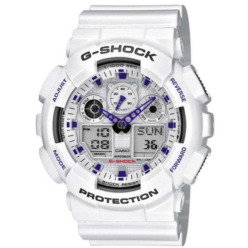 6e84329171a6 Reloj Casio G-Shock GA-100A-7AER blanco barato - relojdemarca