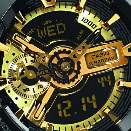 da8c3d9667 Casio reloj analogico y digital hombre ga 110 1a negro – Joyas de plata