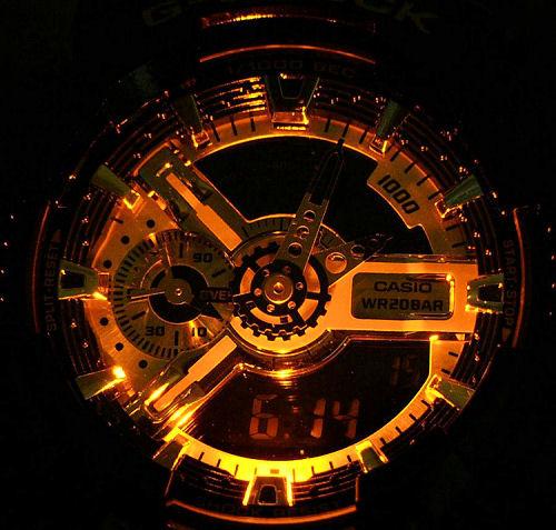 Reloj Casio G-Shock GA-110GB-1AER de hombre en oferta 427f8f5ad129