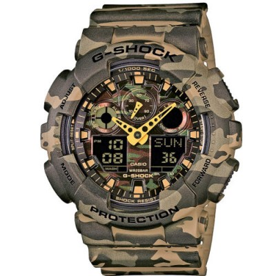 Reloj Casio G-Shock GA-100CM-5AER Camouflage barato - relojdemarca