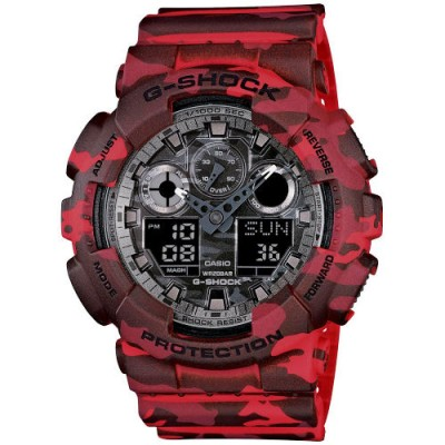 Reloj Casio G-Shock GA-100CM-4AER Camouflage - relojdemarca