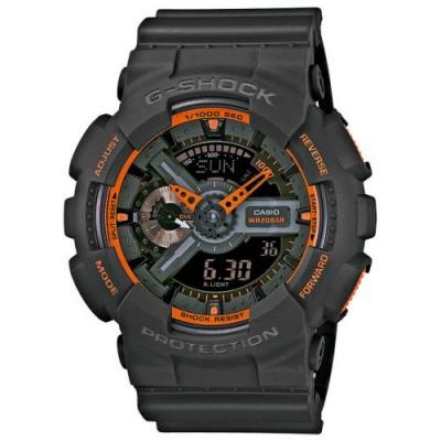 Reloj Casio G-Shock GA-110TS-1A4ER barato negro naranja - relojdemarca