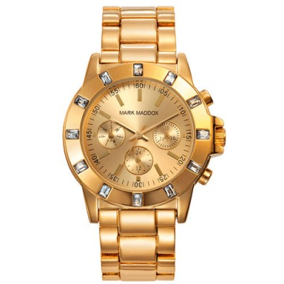 Reloj Mark Maddox MM3003-90 Golden Chic dorado barato - relojdemarca
