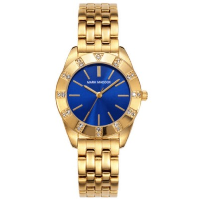 Reloj Mark Maddox MM0017-37 golden chic dorado barato - relojdemarca