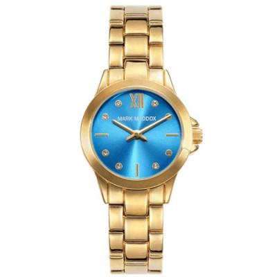 Reloj Mark Maddox MM3027-87 Golden Chic dorado en oferta - relojdemarca