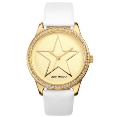 Reloj Mark Maddox MC0003-20 Trendy Silver blanco circonitas - relojdemarca