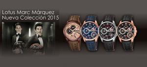 nueva colección relojes Lotus Marc Márquez - relojdemarca