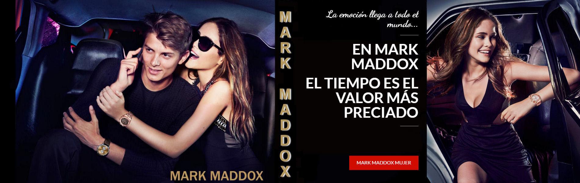 Relojes Mark Maddox mujer