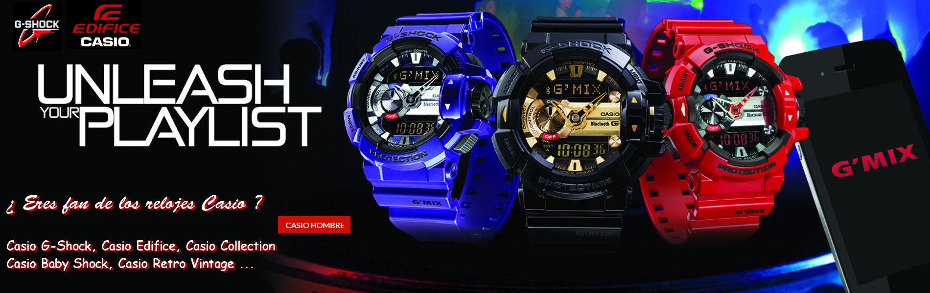 Relojes Casio Hombre