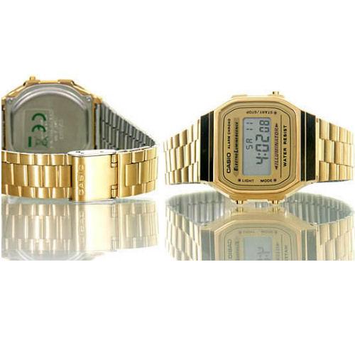 495deabc0d37 Reloj Casio A168WG-9EF collection dorado en rebajas