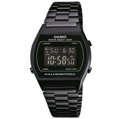 Reloj Casio Collection All Black B640WB-1BEF unisex barato - relojdemarca