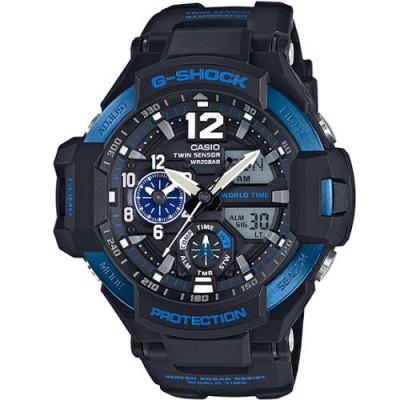 Reloj Casio GA-1100-2BER Gravitymaster barato - relojdemarca
