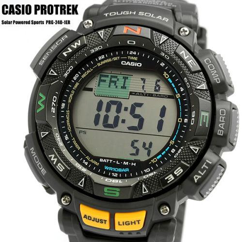 c5482f8f7151 Reloj Casio Protrek PRG-240-1ER barato con alimentación solar y brújula