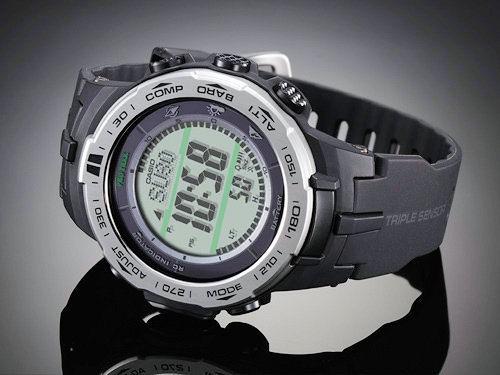 1ff265a91fcb Reloj Casio Protrek PRW-3100-1ER triple sensor con alimentación solar