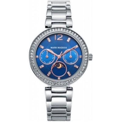 Reloj Mark Maddox MM7017-35 trendy silver - relojdemarca