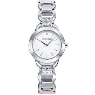 Reloj Mark Maddox MF2001-07 trendy silver - relojdemarca